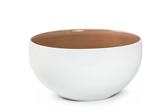 BOWL SOLID BROWN3