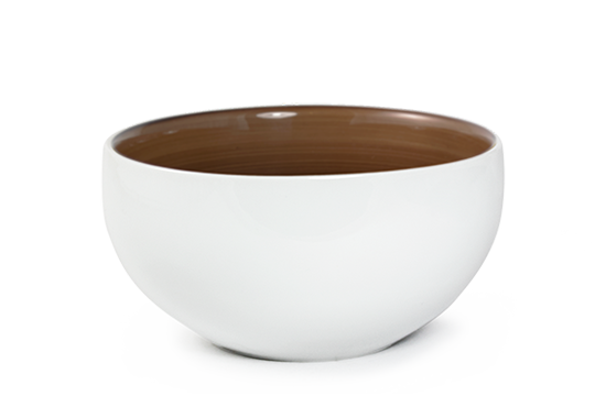 BOWL SOLID BROWN1